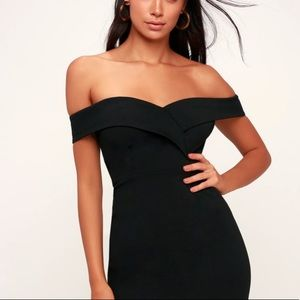 Speechless NWT Off The Shoulder Bodycon Dress